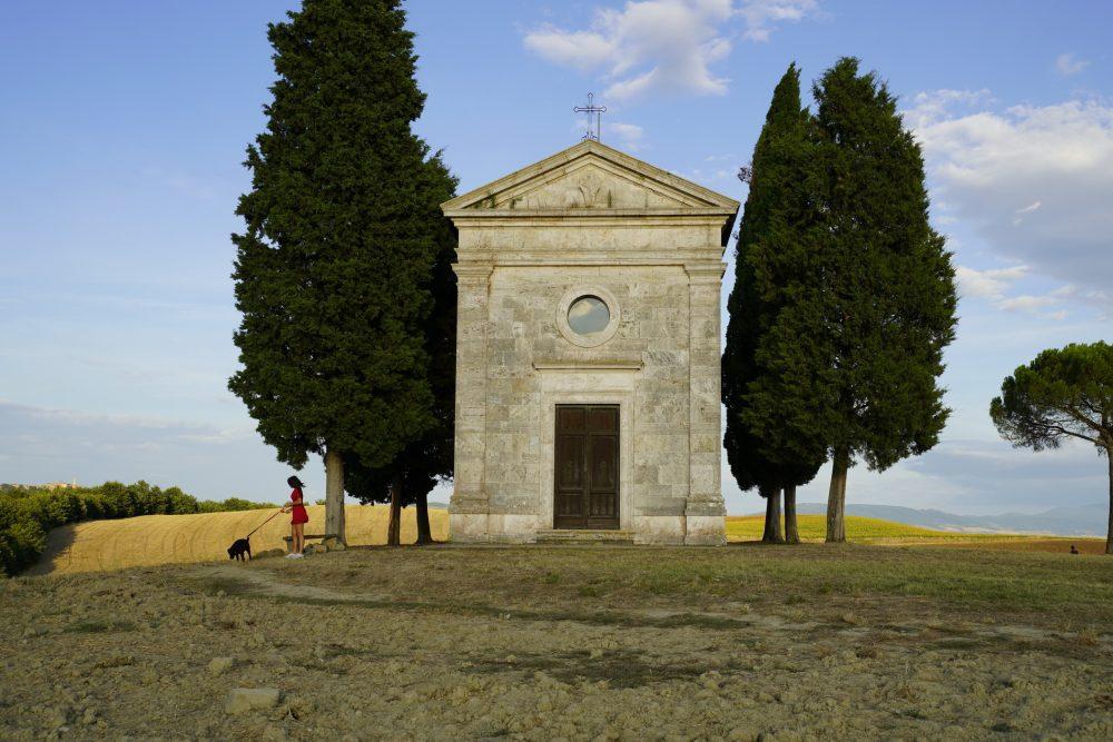 why visit Madonna di Vitaleta chapel