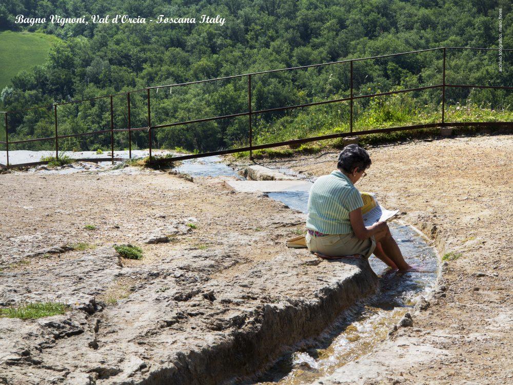 natural thermal bath bagno vignoni