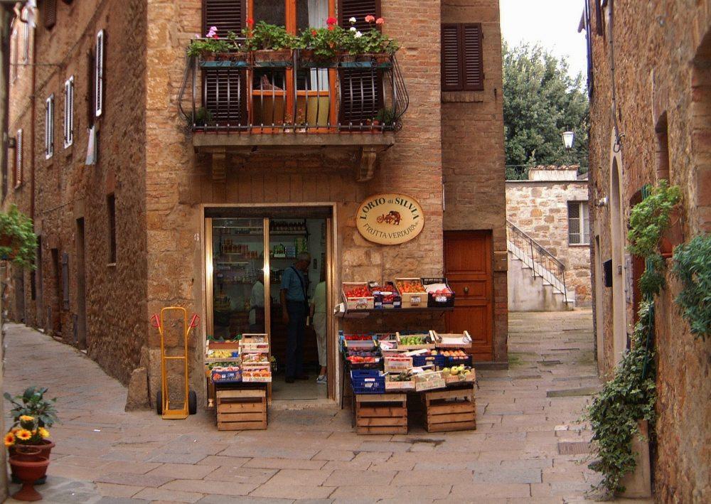 centro storico di pienza