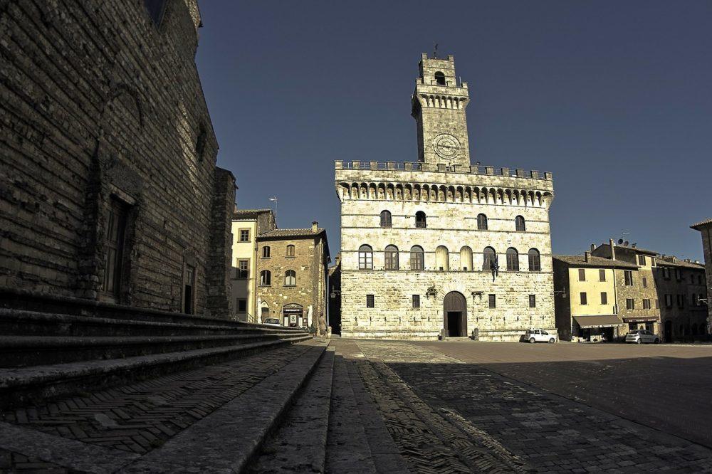 Piazza Grande di Montepulciano